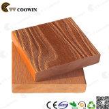 Assoalho impermeável do Decking do pinho vermelho do material de construção