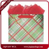 Мешки подарка бумажных мешков подарка бакалеи с слоением