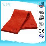 Чистка автомобиля полотенец Microfiber пыли красного цвета Absorbent