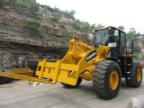 6.0 tonnellate Loading Capacity Wheel Loader (HQ966) con Pallet Fork