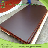 9-13 Construction를 위한 층 Waterproof Glue 12mm 15mm 18mm Poplar 또는 Hardwood Core 브라운 또는 Black Color Marine Plywood