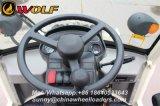 Carregador poderoso da roda de China Zl08f com transmissão hidráulica