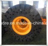 Pneu solide 16.00-25 de la marque OTR de Loda 18.00-25 17.5-25 23.5-25 tout le prix en acier de pneu solide