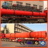 Secador rotatorio del fertilizante del polvo o del gránulo