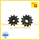 Industrie ISO ANSI Standard Doppel Pitch Rollenkettenrad
