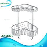 Установленная стеной корзина шкафа держателя хранения вспомогательного оборудования кухни ванной комнаты 2-Tiers нержавеющей стали 304