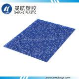 El panel decorativo plástico grabado policarbonato hermoso del diamante