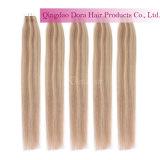 高品質テープ毛のブラジルの人間の毛髪の拡張