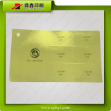 Лоснистое печатание стикера сусального золота