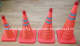 Traffic pliant Cone avec Flashlight