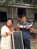 Lumière de jardin solaire en aluminium à LED, lumière solaire LED 30W