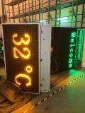 Visualizzazione dell'interno del tempo del LED