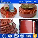 Reforço de borracha hidráulico da fibra de vidro da mangueira da luva do incêndio