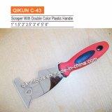 Raspador flexível Polished da lâmina do espelho plástico do punho