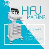 8つのカートリッジとのHifu 10000の打撃かHifuの医学の細く