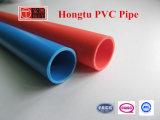 Tubos eléctricos rojos del PVC de De50*2mm