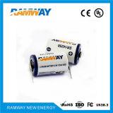 talla primaria de la batería de litio de 3.6V Er14250m 1/2AA