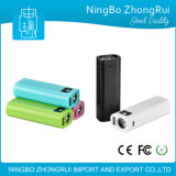 Batería móvil plástica 2600 mAh de la potencia de la antorcha orientada hacia el servicio del OEM y del ODM