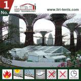 шатер рамки 20X20 с ясной крышей и стенками PVC