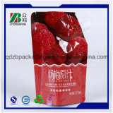 FDAの公認のプラスチックアルミホイルの口の袋