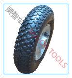 200X50 압축 공기를 넣은 고무 타이어 잔디밭 발동기 바퀴