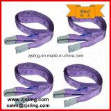Imbracatura 5t X 5m della tessitura dell'elevatore del poliestere (personalizzato)