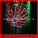 خارجيّة قابل للفصل عيد ميلاد المسيح [مورتيف] كرة حديقة زخرفة عطلة ضوء زاهية