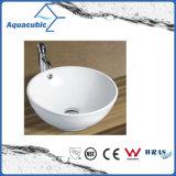 Bassin en céramique d'art de Module et premier bassin de lavage des mains de vanité (ACB8001)