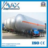 3-Axle 55cbm LPG Gas-Transport-Becken-halb LKW-Schlussteil