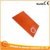 calefator da borracha de silicone do cobertor de aquecimento 120V do silicone de 1000X1000mm 220V 230V 240V 380V