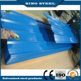 Prepainted PPGI плитка оцинкованной волнистой стали