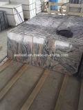 タイルを舗装するマルチ赤い大理石のタイル階段ステップのタイル張りの床