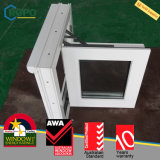 Casement Windows удара UPVC урагана с Retractable экраном