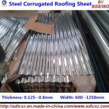 Baumaterial-Stahldach-Blatt galvanisiertes gewölbtes Dach-Stahlblatt