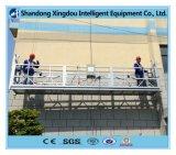 Alto equipo suspendido galvanizado de la limpieza del edificio plataforma/Zlp630/andamio suspendido