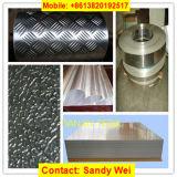 lamiera sottile di alluminio dell'impronta impressa 1050 1060 1100 3003 5052 5754 6061