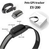 IP66 Waterproof o perseguidor do GPS dos animais de estimação com Wireless&Vibration (EV-200)