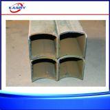 Corte del perfil del tubo del cuadrado del acero inoxidable/máquina que bisela/que ranura