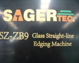 Línea recta de cristal máquina Sz-Zb9 del ribete