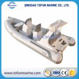 Hypalon/PVC de Opblaasbare Boot van de Rib (Bijgewerkte het Model van RIB520 S)