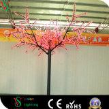 장식적인 인공적인 온난한 백색 LED 벚나무