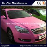 El vinilo auto-adhesivo colorea el coche que envuelve la película del vinilo