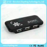 Custom Logo Super Thin 4 Port USB Hub 2.0 (ZYF4201)