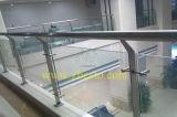 Glace brisée Tempered 10mm claire personnalisée d'épreuve de 8mm pour le balcon