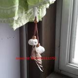 Peso di pietra /Stone della tovaglia con le clip di cuoio di /Tablecloth del peso della tovaglia