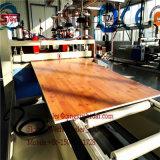PVC elevado de Effency que decora a placa de mármore decorativa artificial do PVC da maquinaria da extrusão da placa que faz a máquina