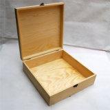 Оптовая деревянная коробка хранения с замком металла