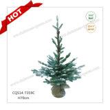 Mestiere di plastica di nevicata su artificiale dell'albero di Natale di H80-125cm