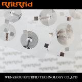 Aluminiumelektronische Marke der HF-NFC radierungs-RFID/Kennsatz /Sticker