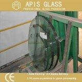 il vetro libero della tavola rotonda di 10mm/ha temperato il vetro da tavolo/vetro per il piano d'appoggio